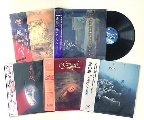 ジャパニーズ・プログレ名盤5作が180g盤LPで再発、ノヴェラの平山照継らがコメント