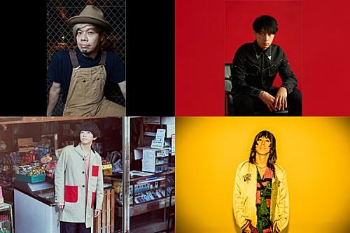 TAKUMA(10-FEET)/牧達弥(go!go!vanillas)ら4組のアーティストが『ROCK KIDS 802』代打DJとして登場