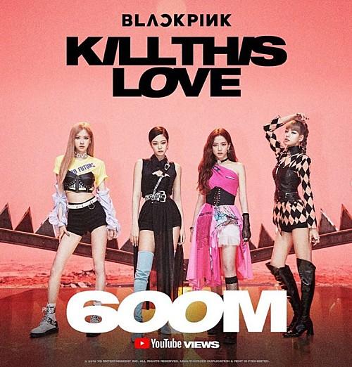 BLACKPINKが記念ビジュアル解禁、「Kill This Love」MVが自己最速で6億再生を突破